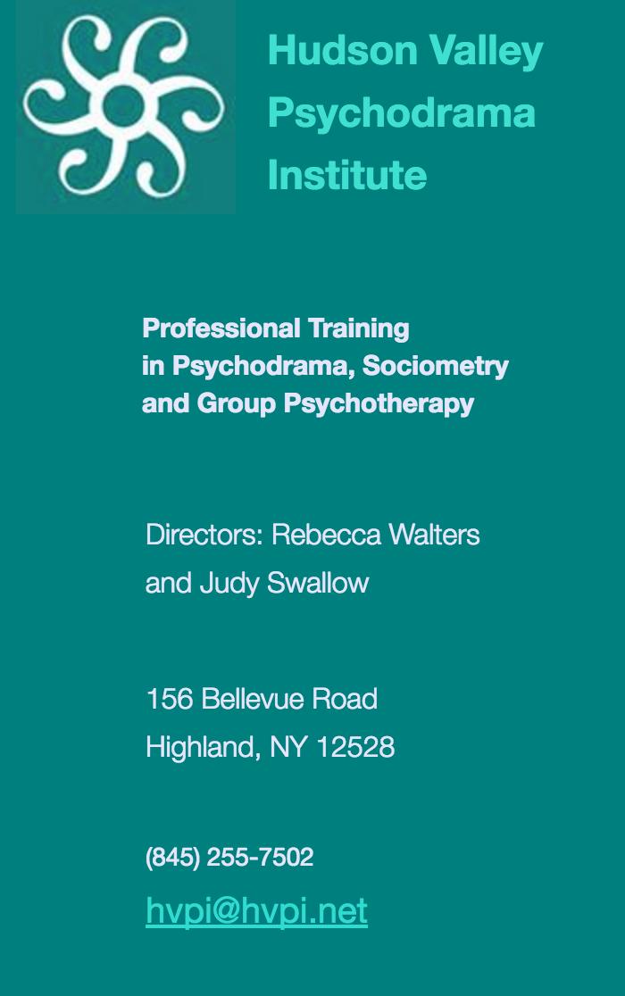 Hudson Valley Psychodrama Institute