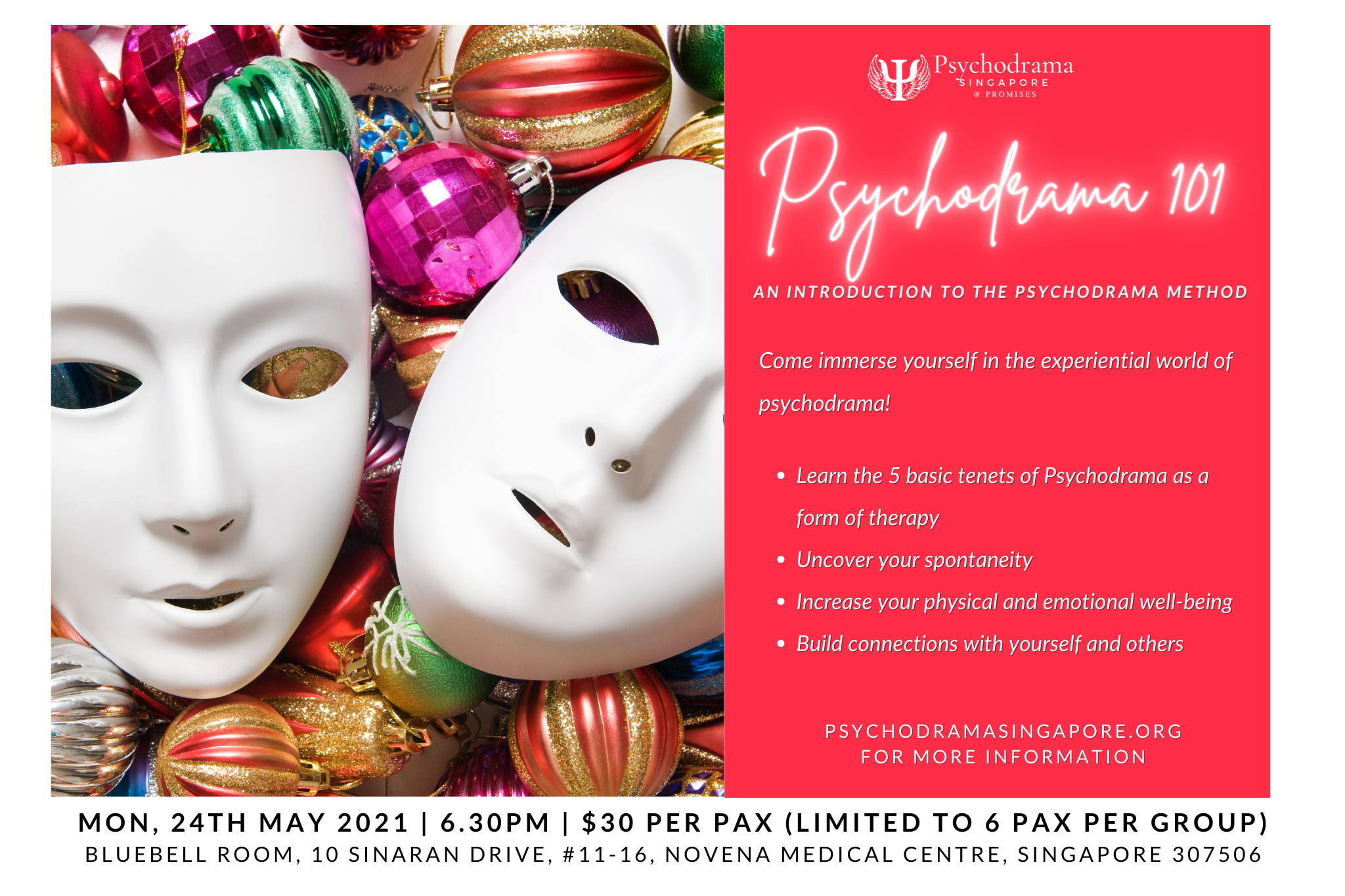 Psychodrama may group introduction workshop